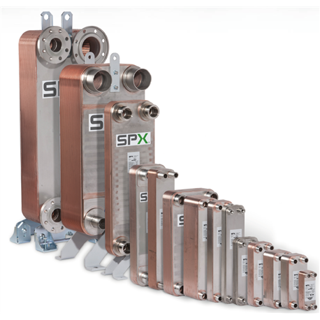 Wymiennik ciepła SPX TTU 10 H-10-BB