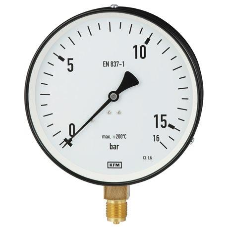 Manometr 111.22.100R 10 bar/ 200°C M20x1,5