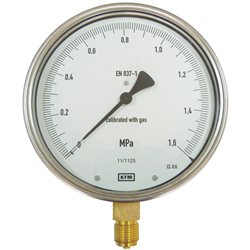 Manometr 311.10.160R 0,1 MPa M20 x 1,5 Kl. 0,6