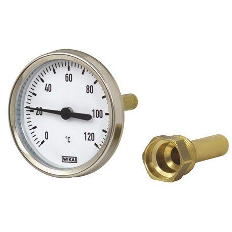 Termometr T100, 0-60°C L200 A50