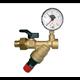 Zawór napełniania inst. 2128 DN15 1-5bar 80 st + manometr