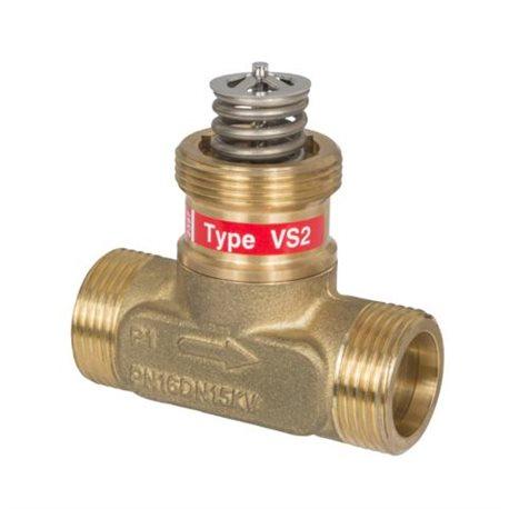 Zawór regulacyjny VS2, 15/0,63/4mm gwint zew.