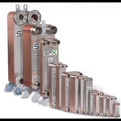 Wymiennik ciepła SPX TTU 10 H-80-BB