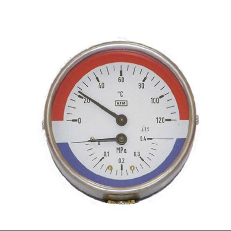 Termomanometr WP80-T 150/1,6 MPa